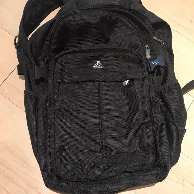 Adidas電腦後背包