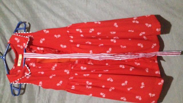Alli & Ella Red Dress