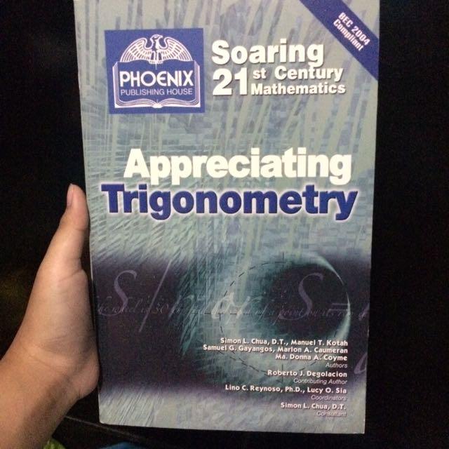 appreciating trigonometry grade 9 book