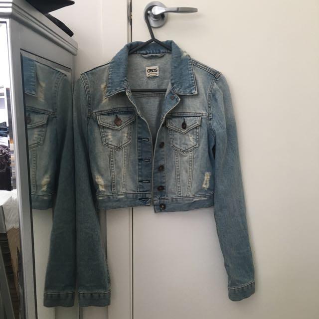 ASOS Cropped Denim Jacket