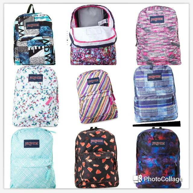 Authentic Money-Back Guarantee JanSport Backpack