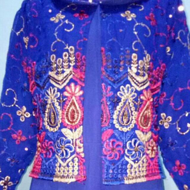 Baju Muslim Biru