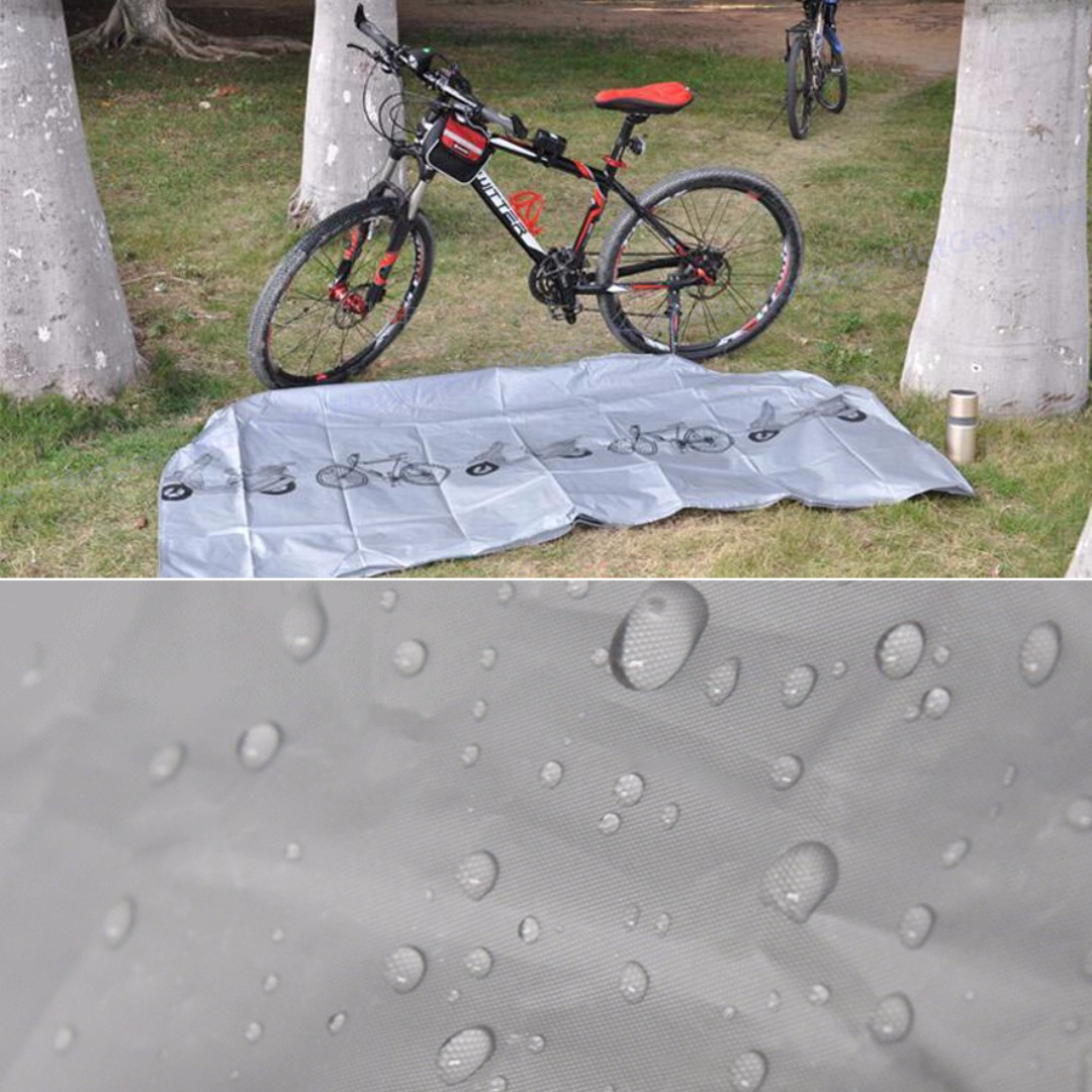 Bicycle Waterproof Cover Sun Dust Resistant Outdoor Protector For Scooter//Bike