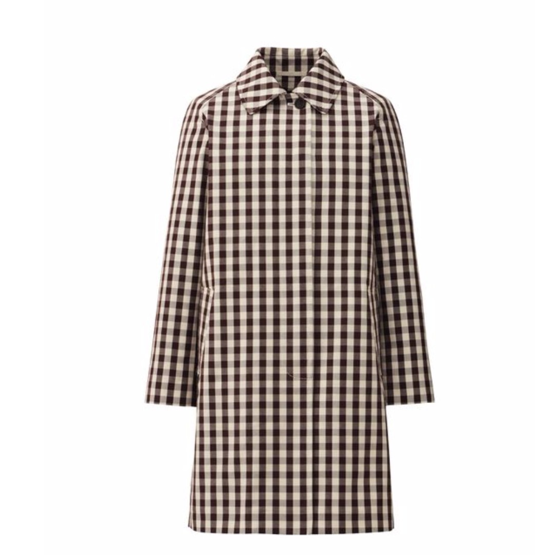 BNWOT Uniqlo Black and White Checkered Coat