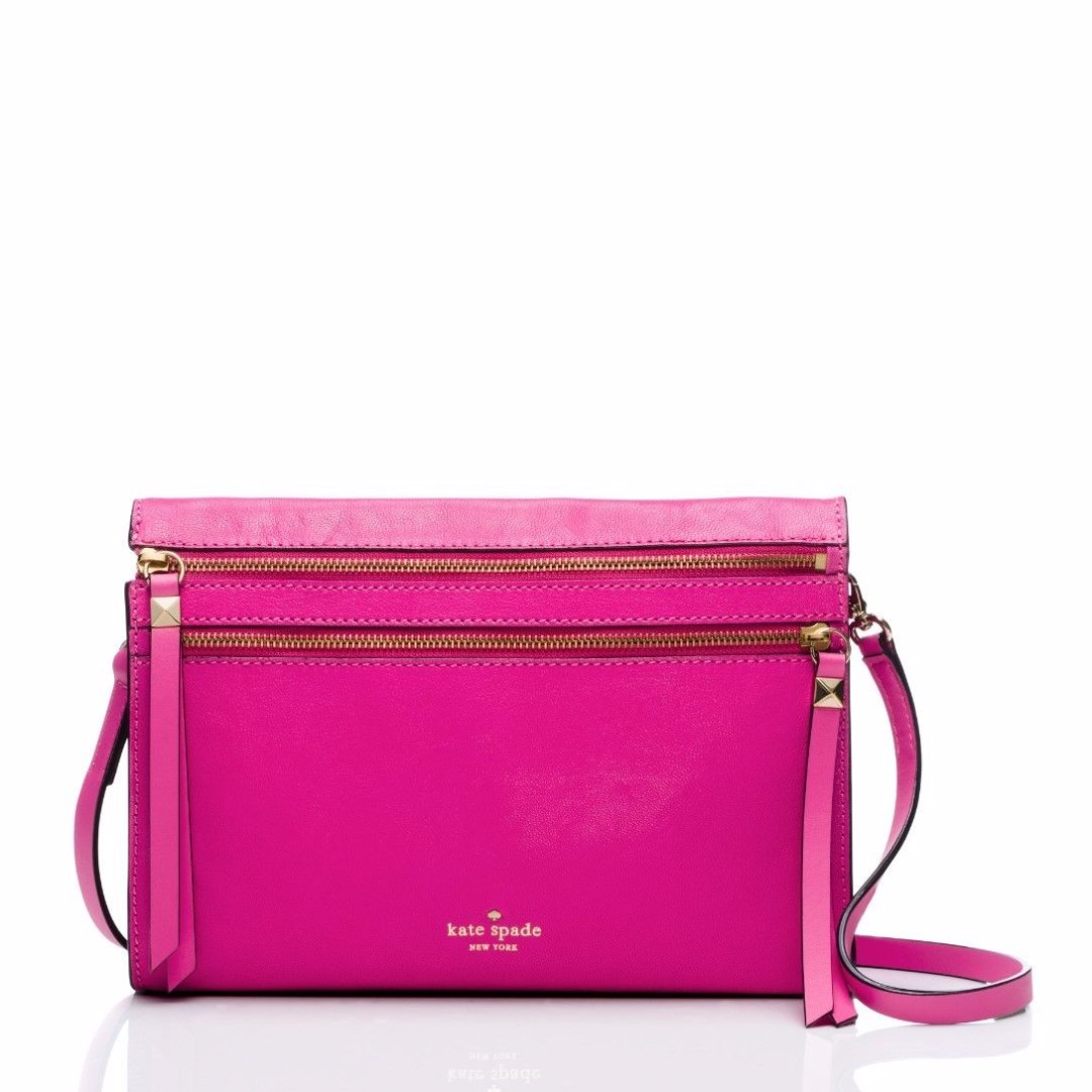 "BNWT Authentic Kate Spade ""Social Butterfly Skyler"" Crossbody & Clutch Bag"