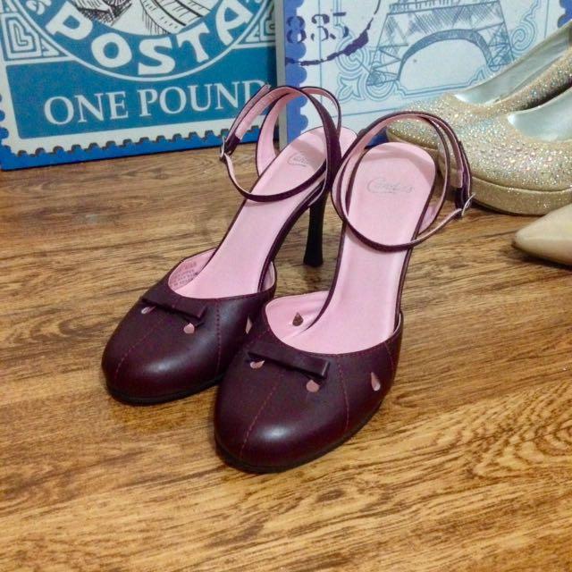 Bow Design Heels