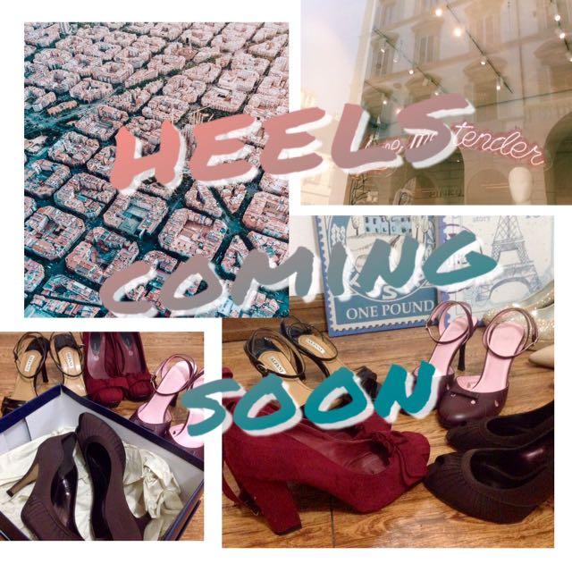 Branded Heels