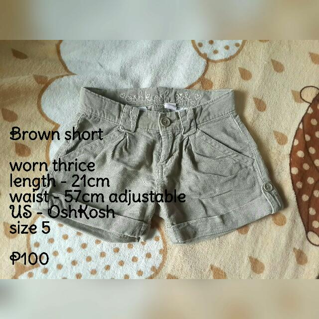 Brown Short