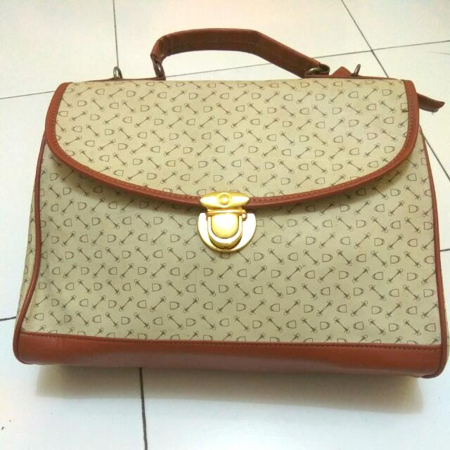 Reprices Brown Sling Bag