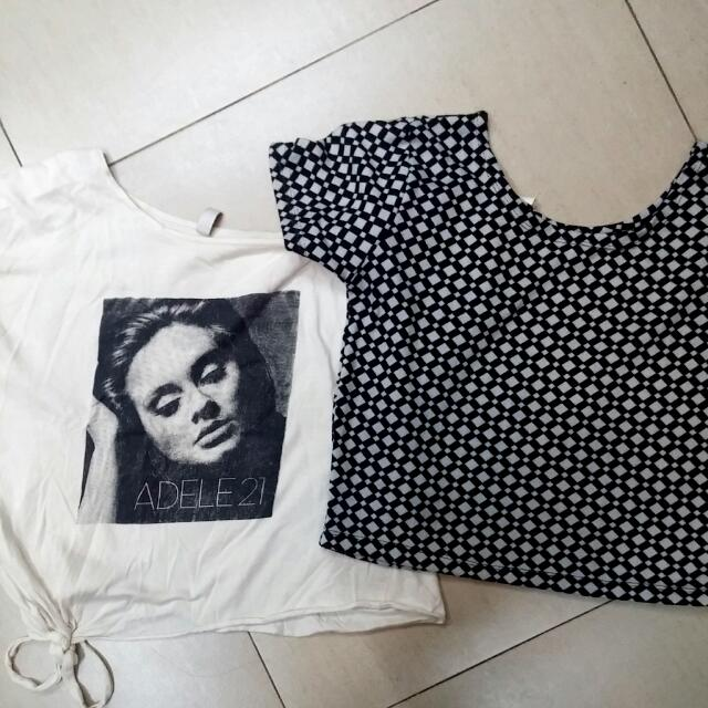 Bundle B&W Tops