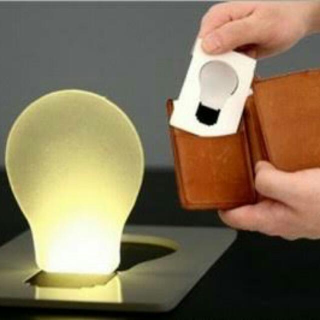 Card Pocket LED Light