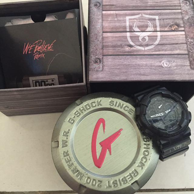 Casio G-shock Remix 聯名限量手錶 7週年