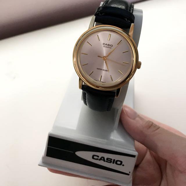 Casio真皮錶 MTP-1095Q-7A