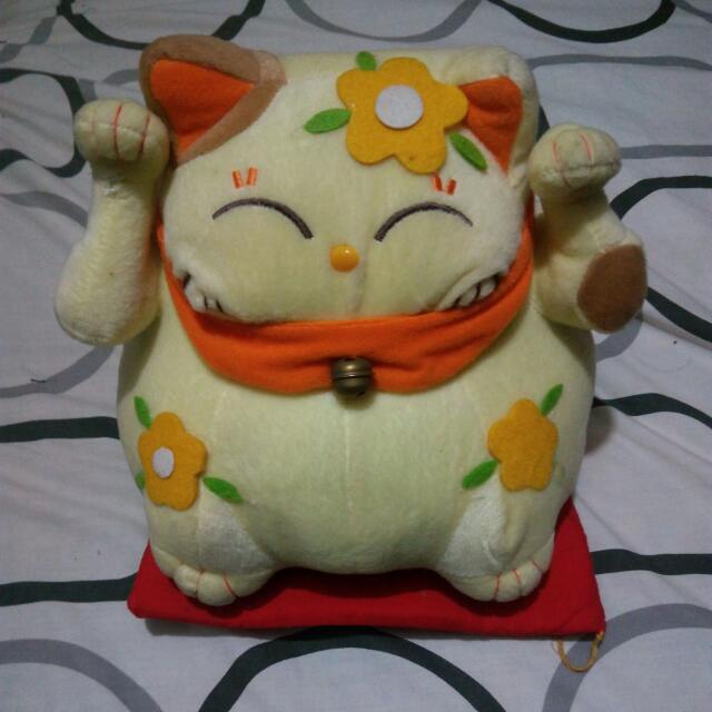 Cat Stuffed Toy Display
