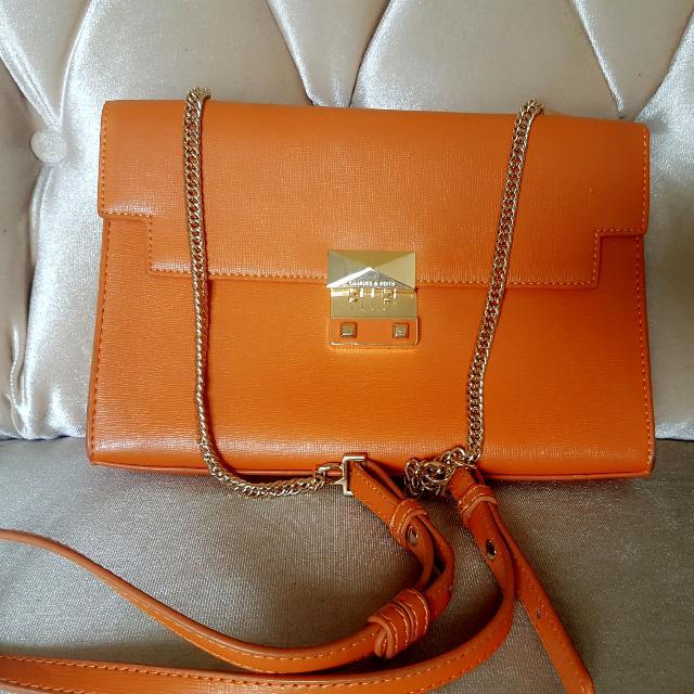 Charles n Keith Sling Clutch Bag