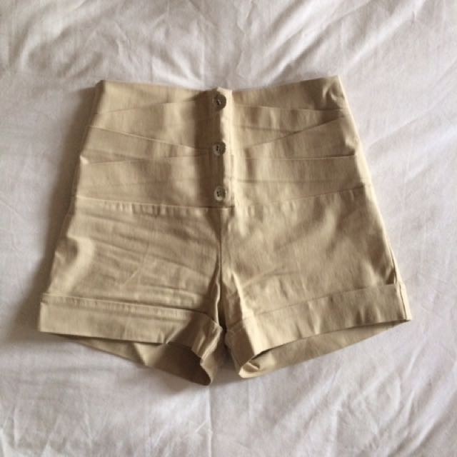 Chic High Waisted Shorts