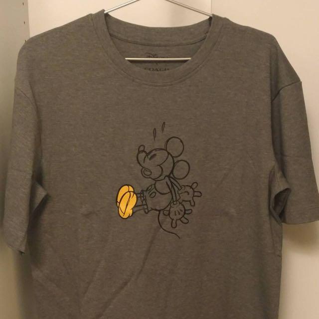 Coach x 迪士尼 米奇 聯名款 男款 T-shirt