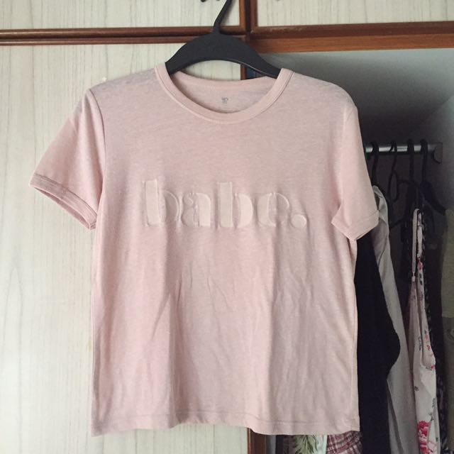 Cotton On Tee/ Crop Top