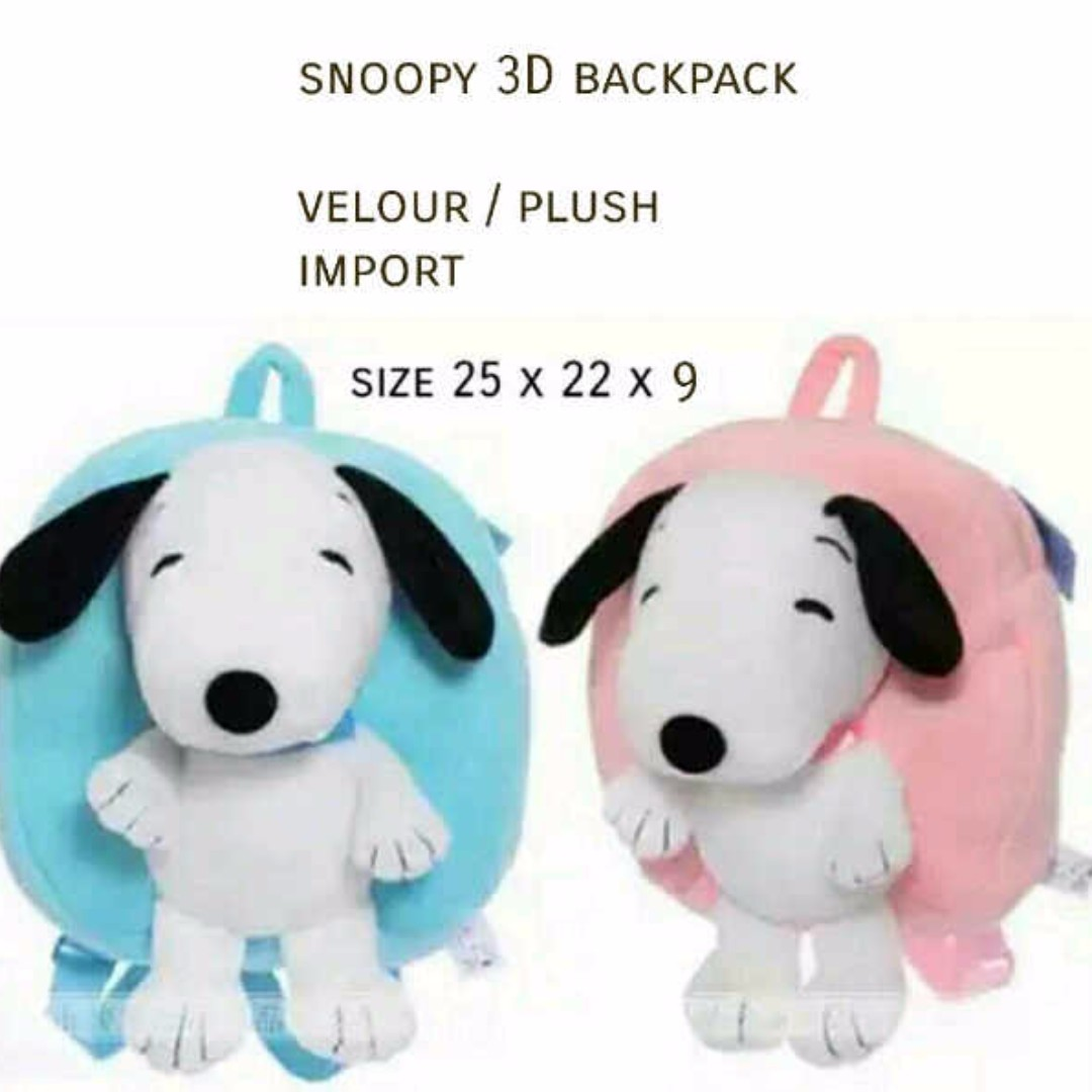 CS701 Snoopy backpack IMPORT