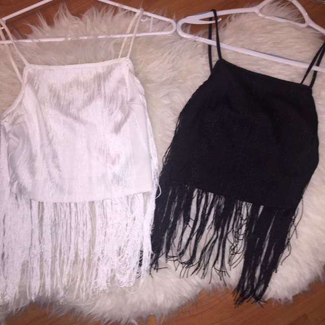 Cute Fringe Crop Top Dynamite