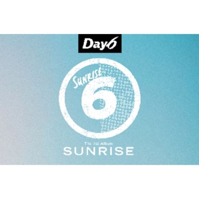 DAY6 1st Album Sunrise + Photobook + Jewel Case + Lyrics