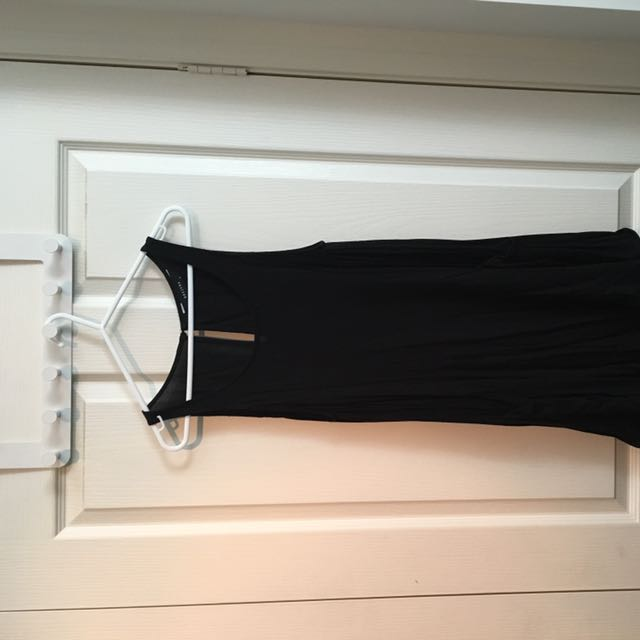 Decjuba Size S Extra Long Top With Pockets