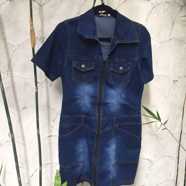 Denim Dress ❗️Free Shipping ❗️