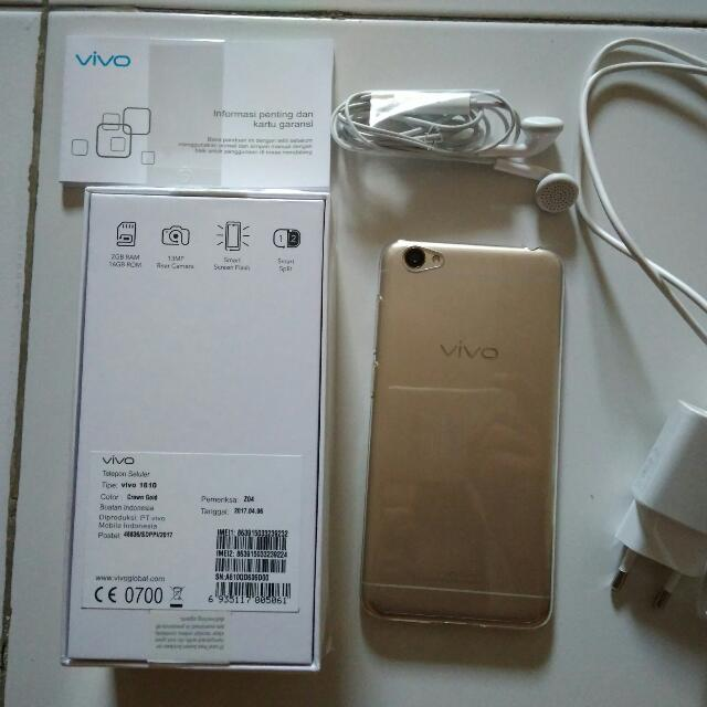 Dijual Smartphone VIVO Y55s Gold New, Mobile Phones & Tablets on