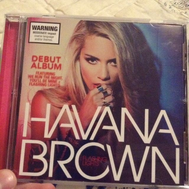 DJ Havana Brown Flashing Lights