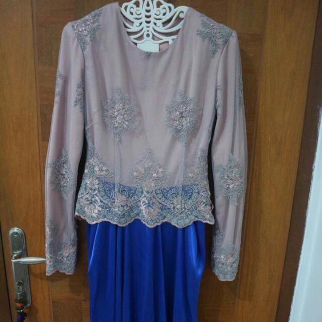 Dress Muslim Brokat