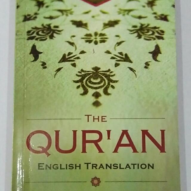 English Translation Of HOLY QURAN