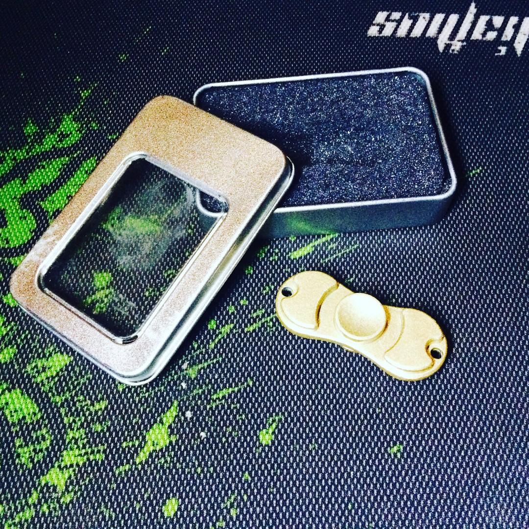 Fidget spinner pro steel FREE ONGKIR