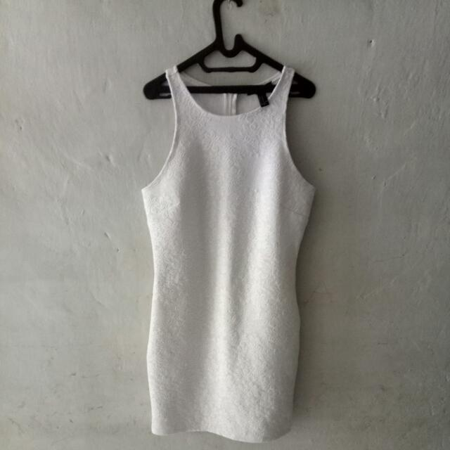 Forever 21 Mini Dress White