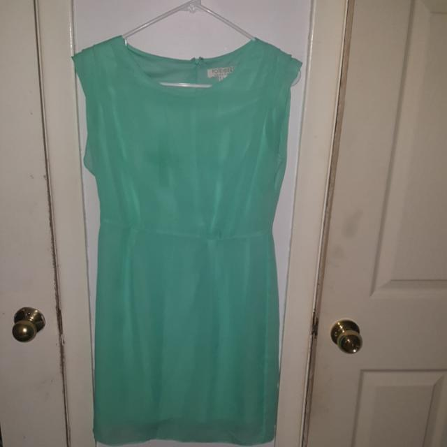 Forever 21 Turquoise Dress