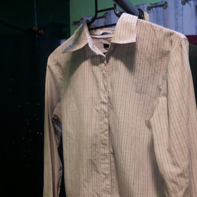 GAP Fitted Striped Long Sleeves