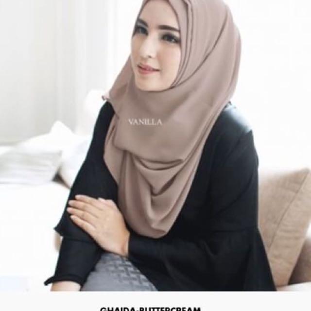 Ghaida Hijab By vanilla Hijab