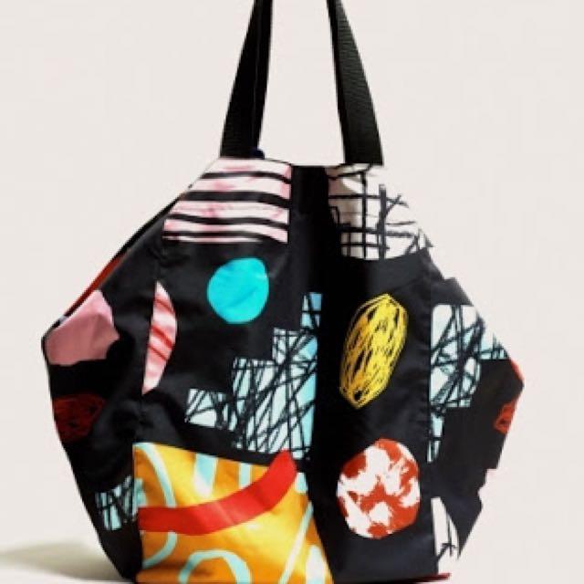 Gorman Collage Noir Tote Bag