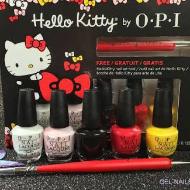Hello Kitty OPI Nail Polish