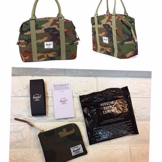 HERSCHEL BAG & WALLET COMBI