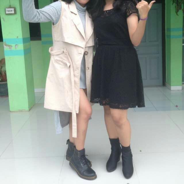 H&M Black Brukat dress Ori100℅ Belum Sama Ongkir
