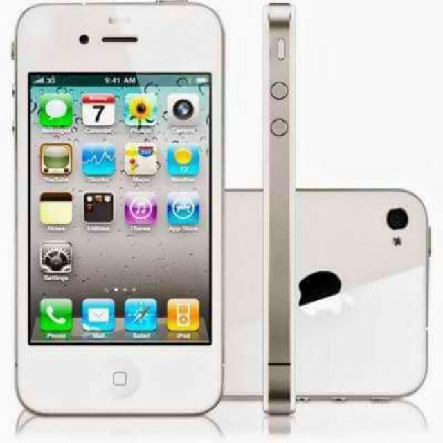 Iphone 4 4300 Iphone 4s 4800  16 GB W/ headset