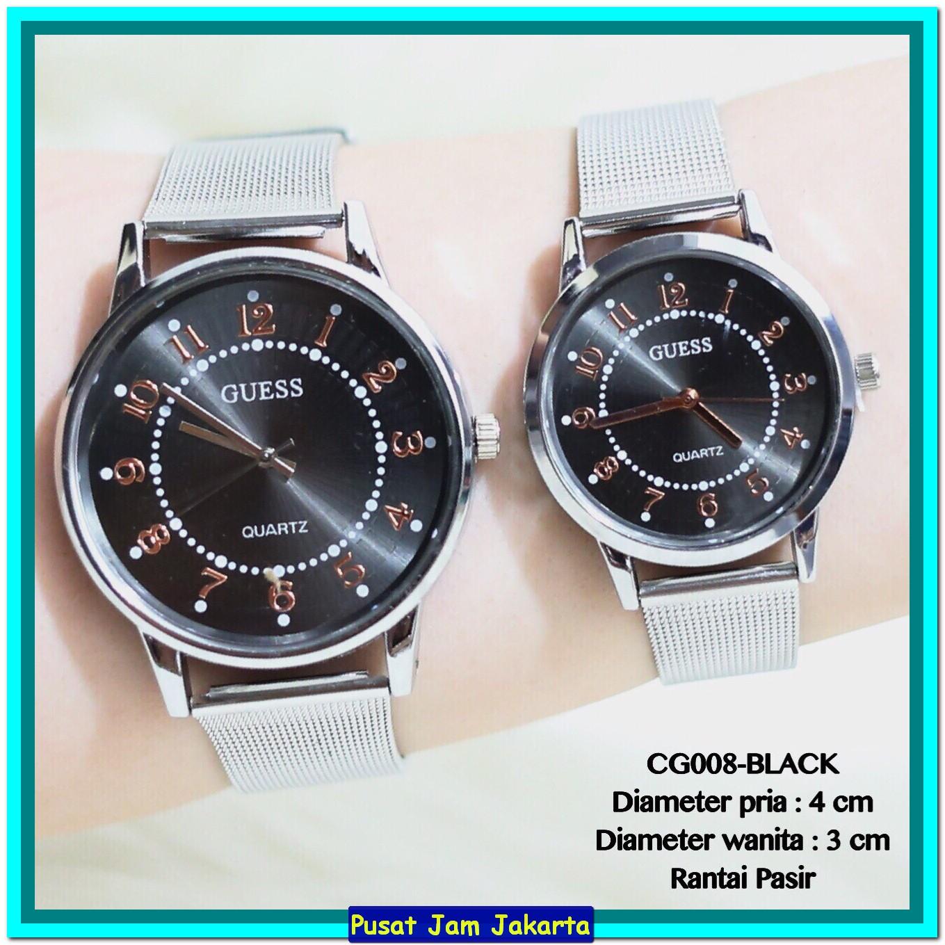 Jam Tangan Pria Wanita Couple Alba Black Stainless Strap Daftar Axnd55x1 Silver Axnd55 Bisa Photo
