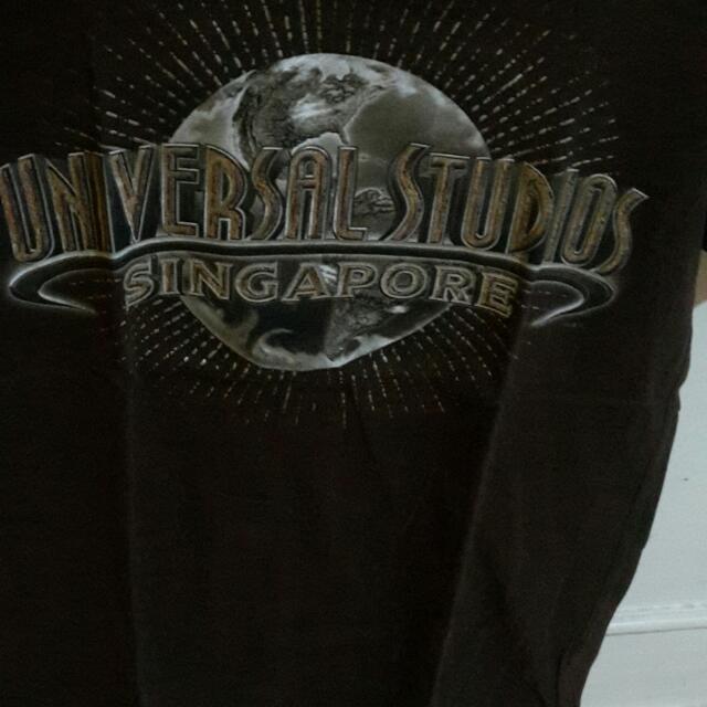 Kaos Universal Studio Singapur Asli