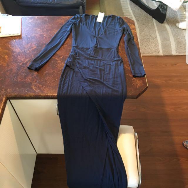 Kookai Maxi Split Dress