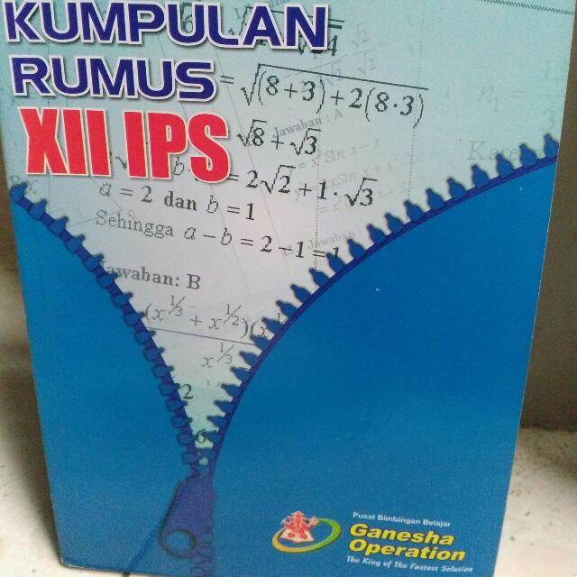 Kumpulan Rumus XII IPS By Ganesha Operation