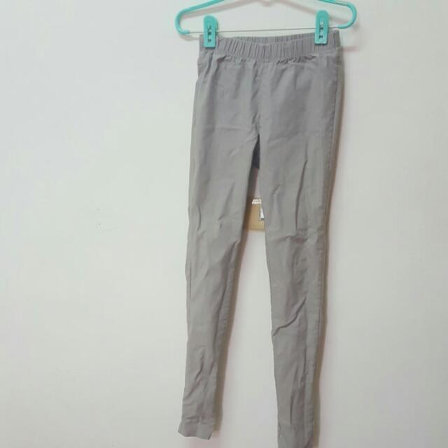 Lativ灰色貼腿褲