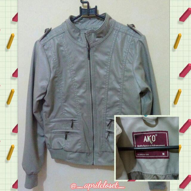 SALE 100RB!! Leather Jacket