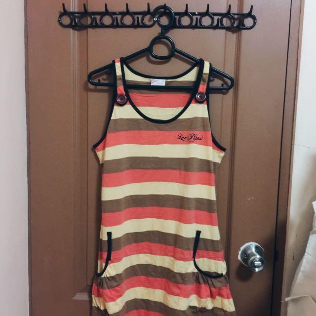 LEE PIPES mini dress