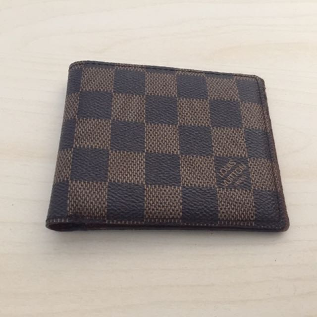 Louis Vuitton Damier Slender Wallet