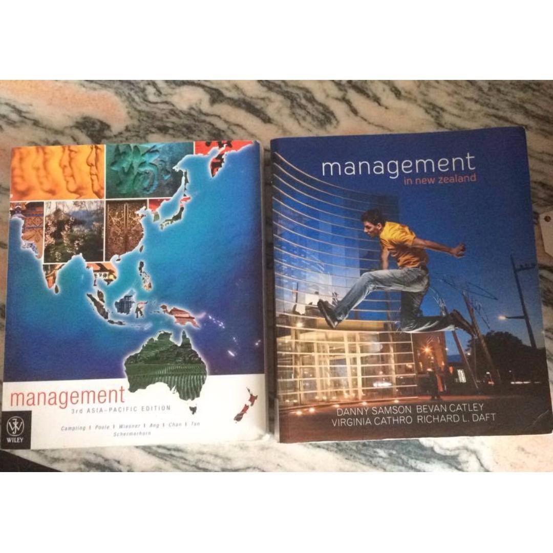 Management Textbooks